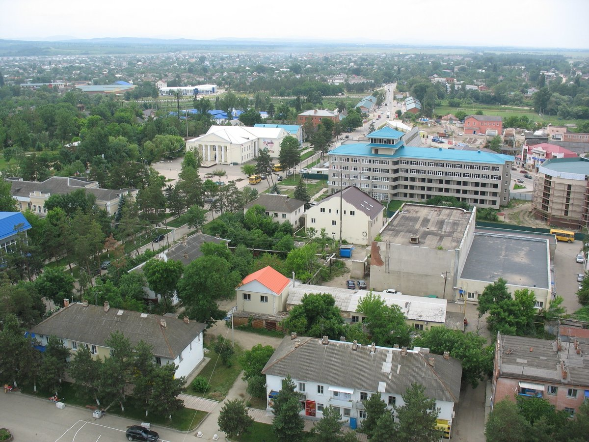 Фото города абинска краснодарский край знаете