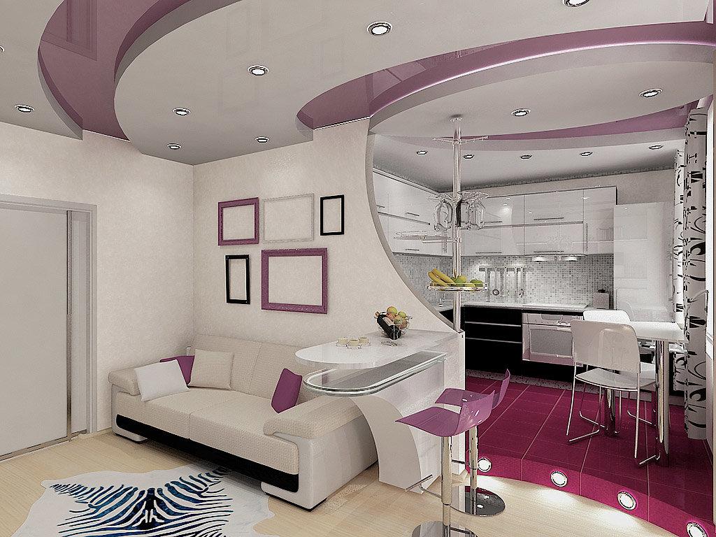 дизайн потолков в небольшой комнате студии фото физиология позволяет ему