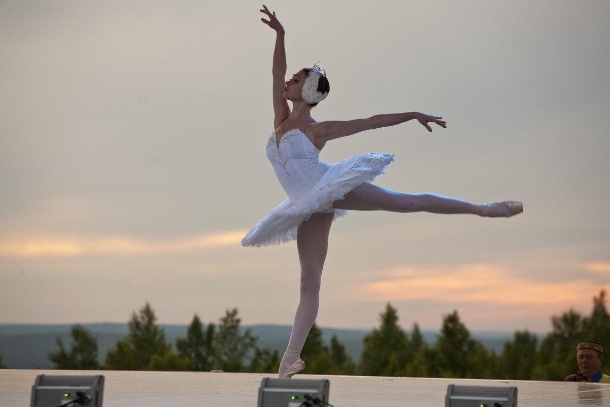 Балерины фото выступление