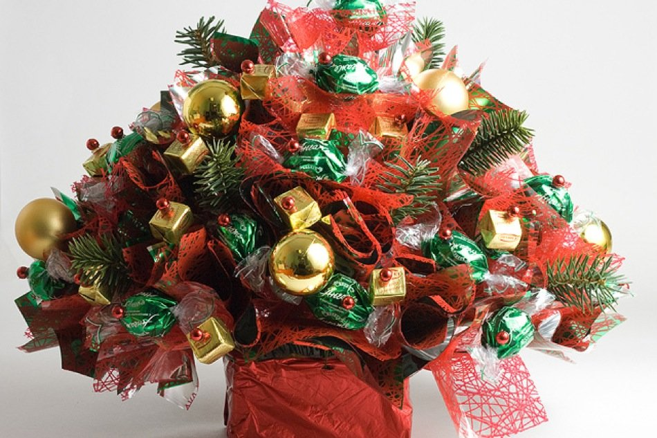 Цветов, детские новогодние букеты
