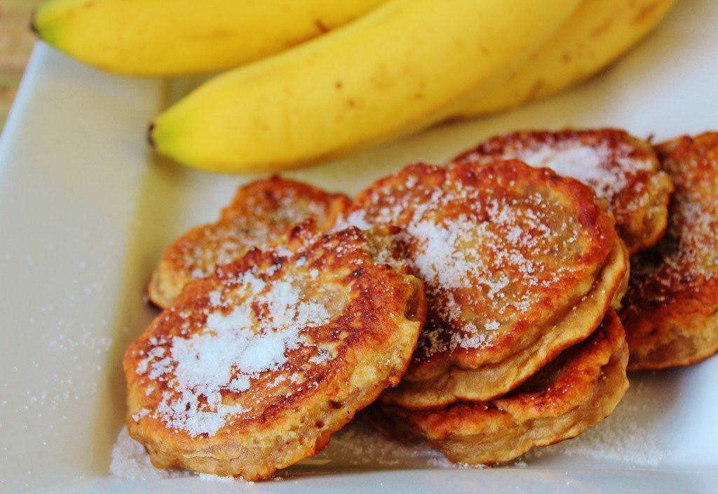 Оладьи банановые картинки