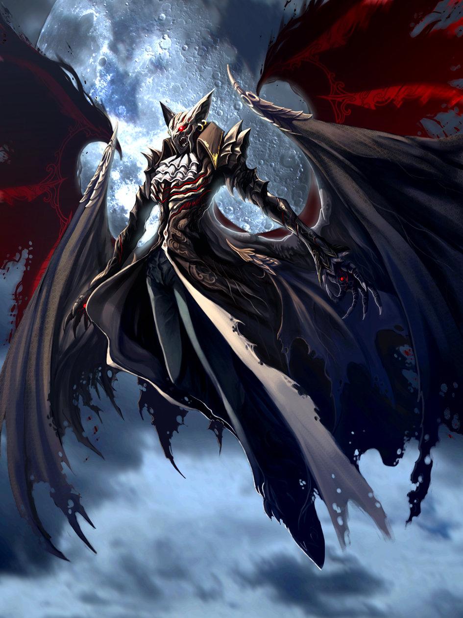 Картинки аниме драконы демоны