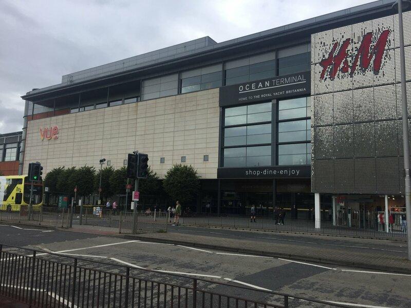 Торговый центр  Ocean Terminal, Эдинбург