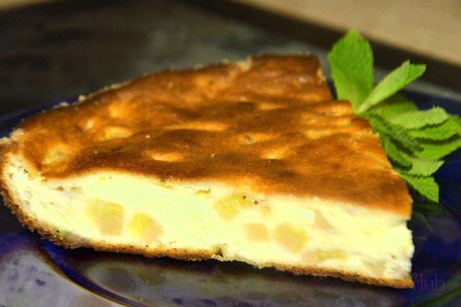 Простые десерты с творогом в духовке