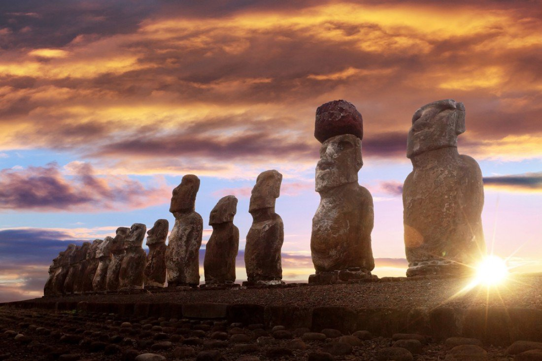 an analysis of the mystery of the easter island