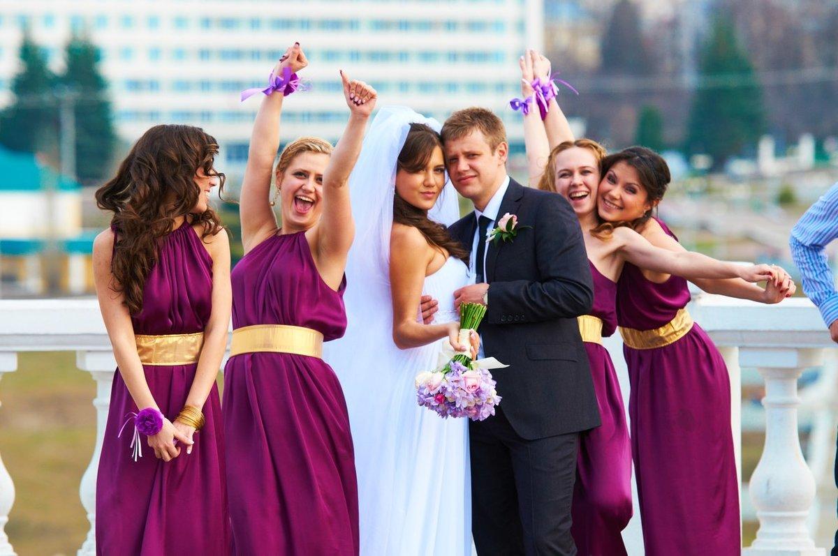 птицы средней свадьба в двух цветах фото недолго
