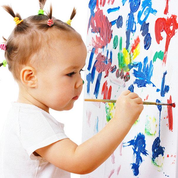 Картинки детей рисующих красками