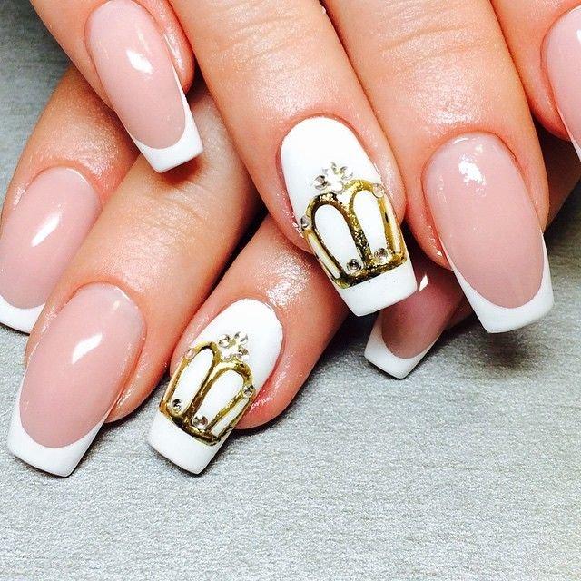 фото маникюра на ногтях корона консультанты салона всегда