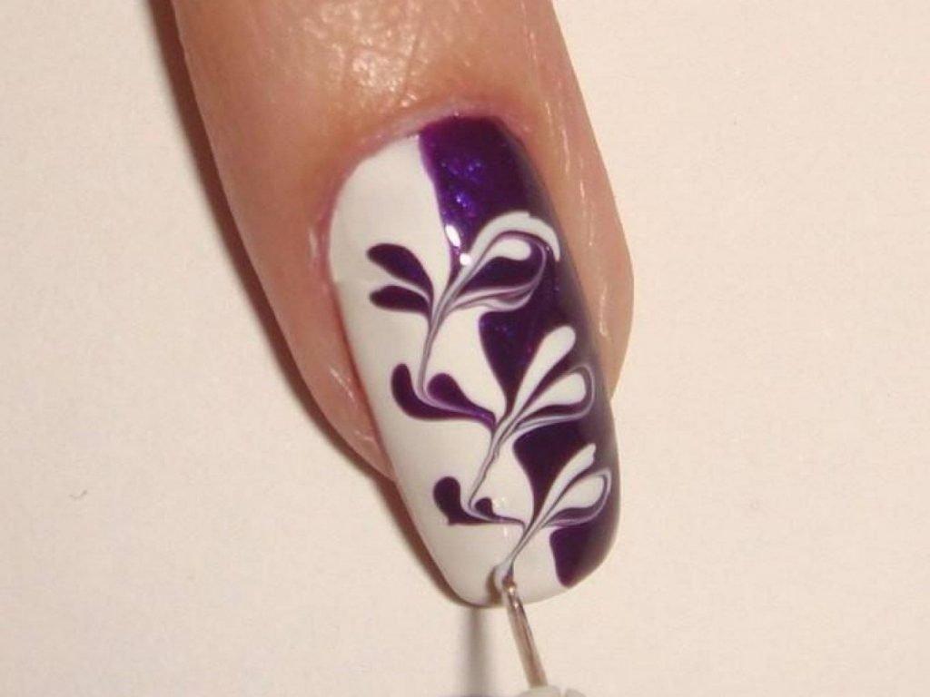 легкие картинки на ногтях для начинающих