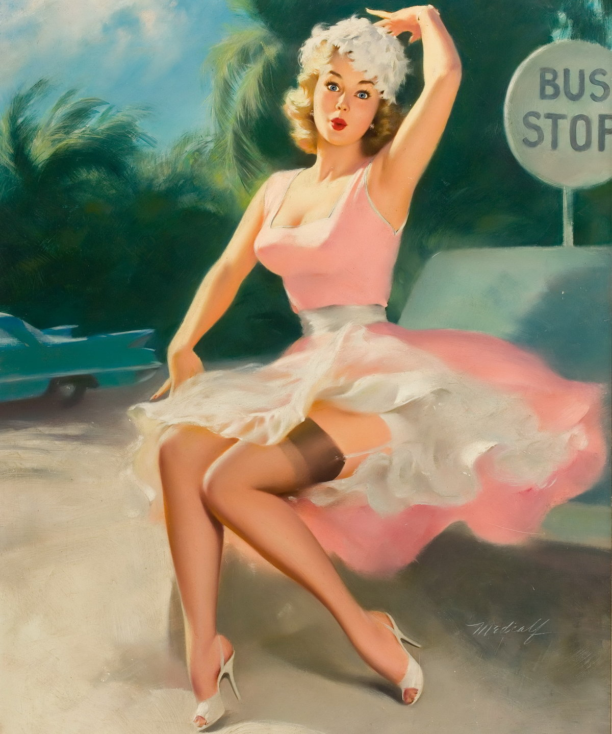 Картинки девушек 50 х годов, лет мужчине своими