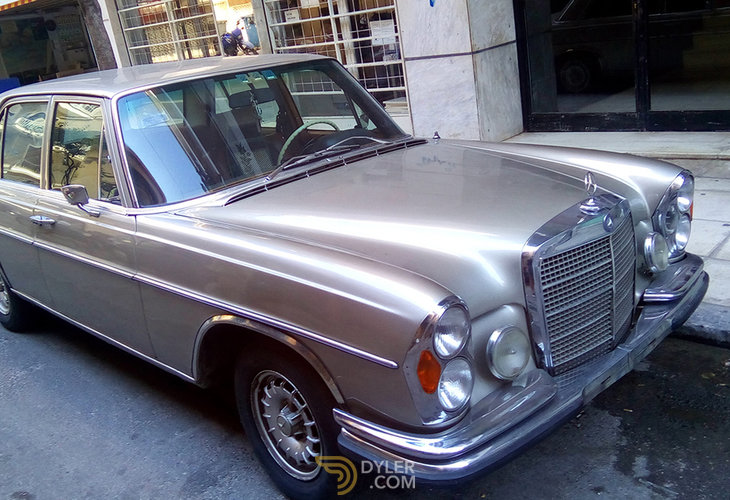 """""""1970 Mercedes-Benz 280 S W108, Used, Petrol, Gold, 99,999 ..."""