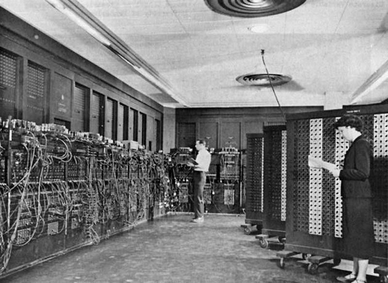 the eniac story historical account of