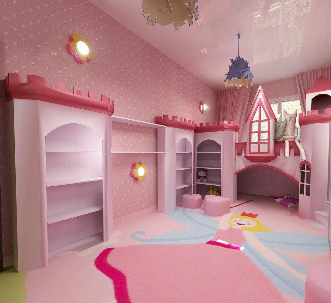 Комнаты для принцесс картинки