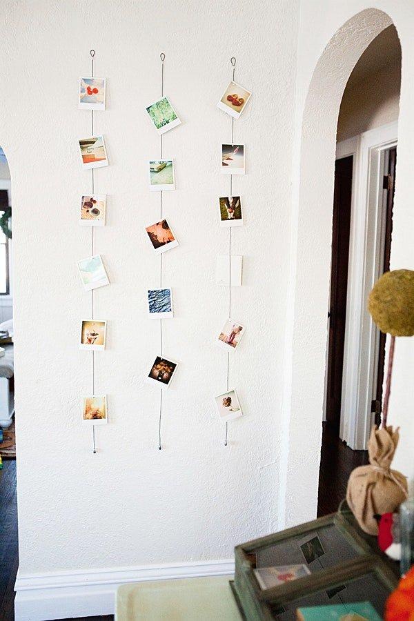 это идеи как в доме развесить фотографии мнению