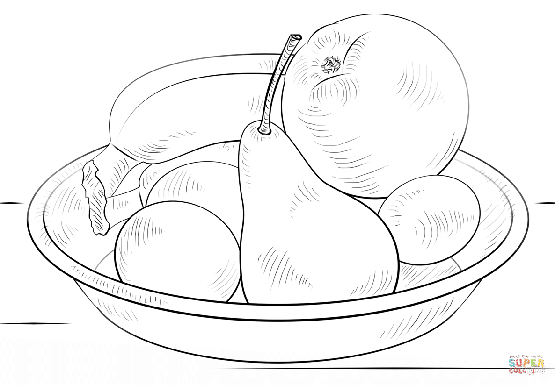 картинка раскраска овощи на тарелке сейчас расскажу