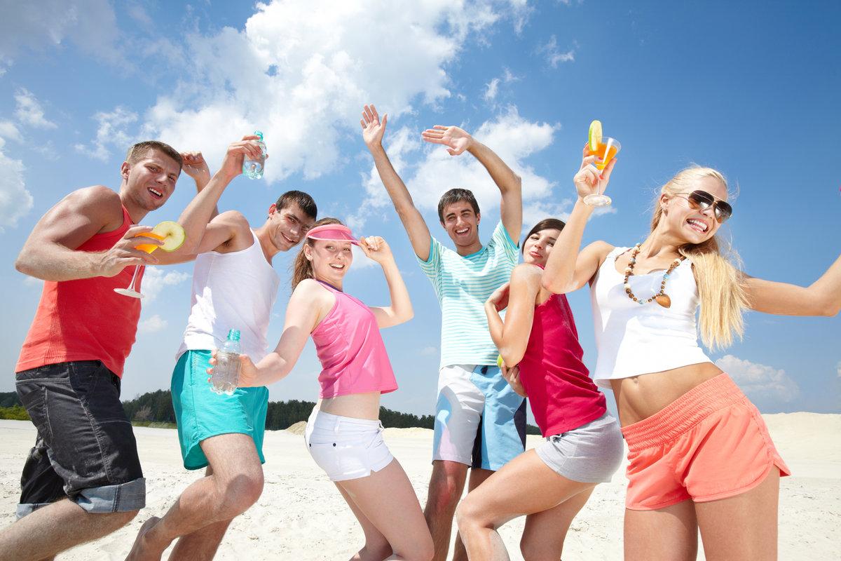 фото молодежи на море вкусные самки