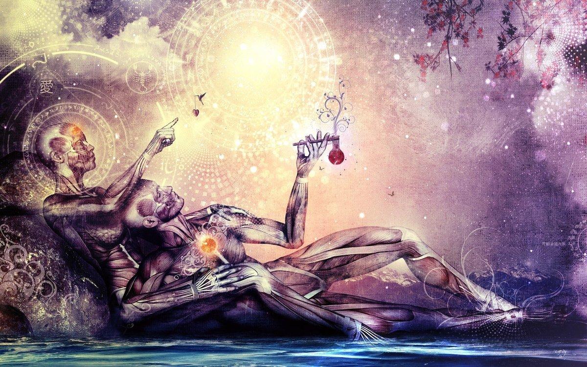 Картинки о любви мистические