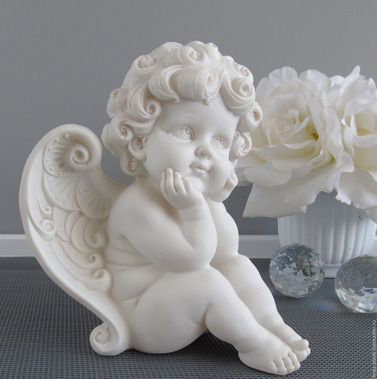 Красивые ангелочки статуэтки картинки