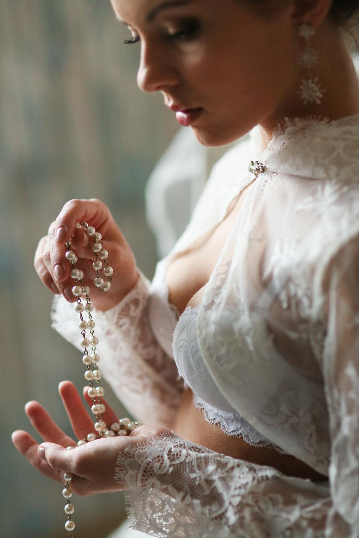 Невеста дала перед свадьбой всё