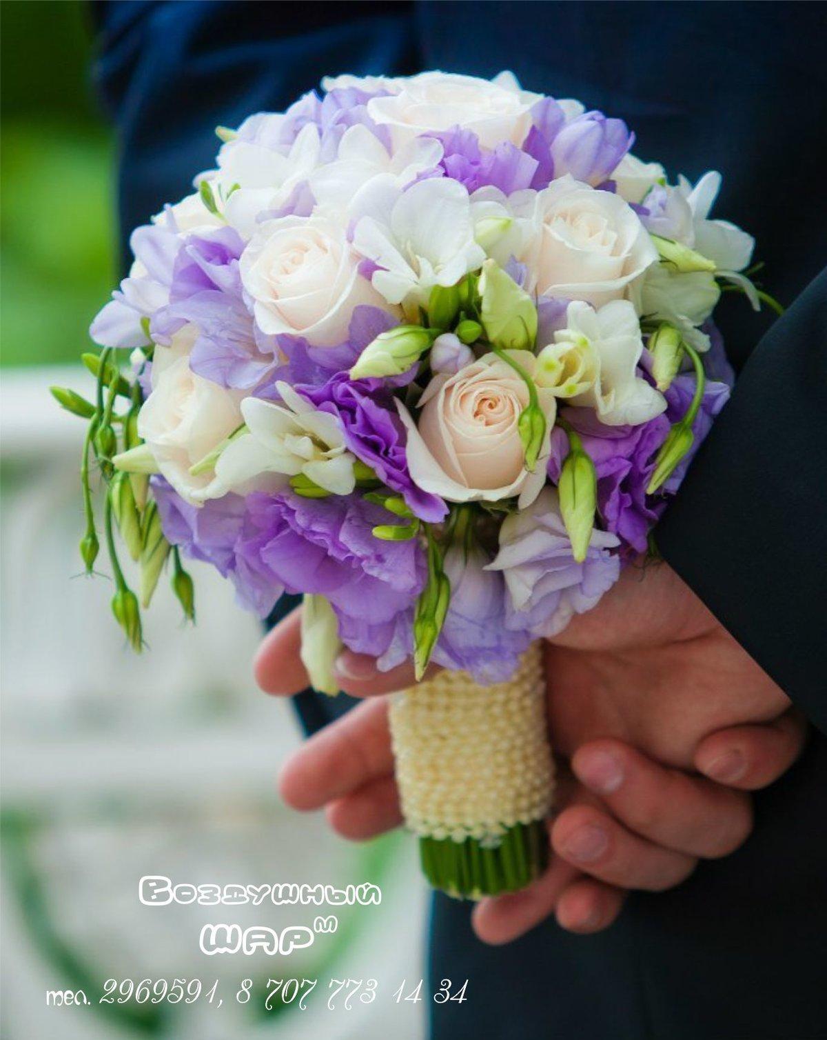 Свадебный букет для невесты в алматы