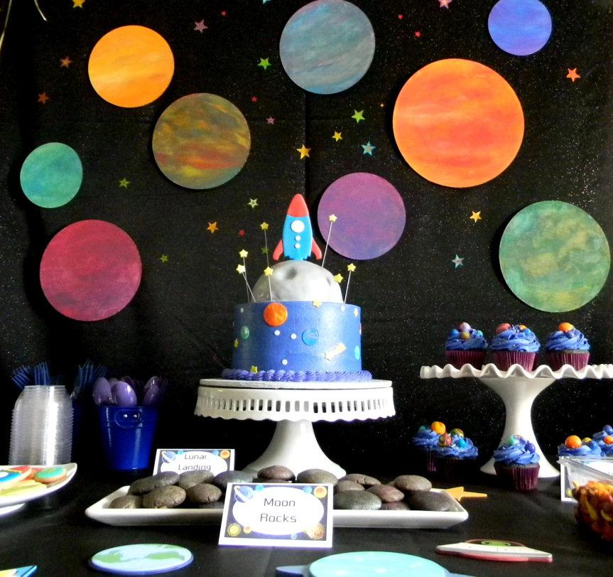 Июля, картинки с космической тематикой для праздника