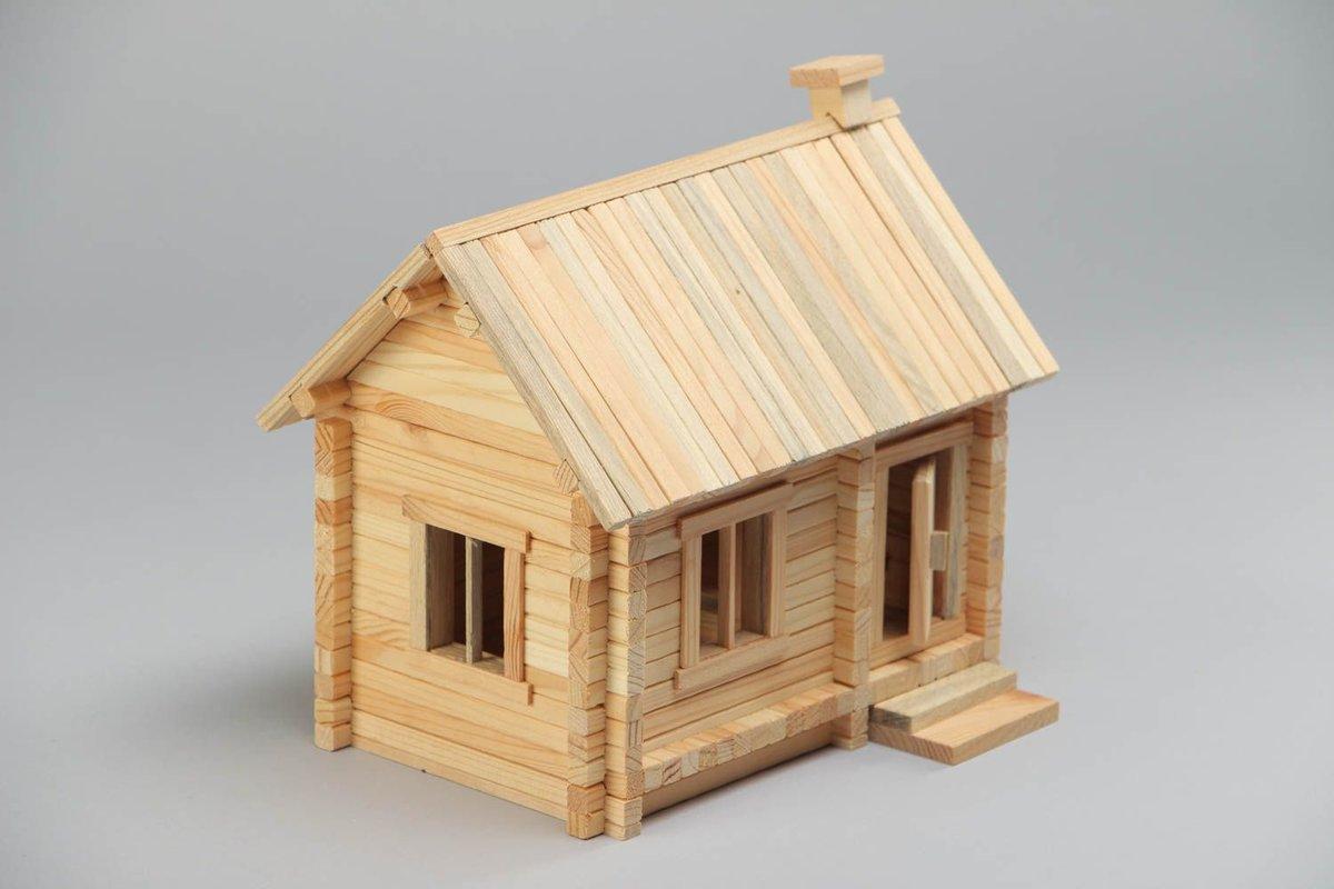 Домики деревянные картинки