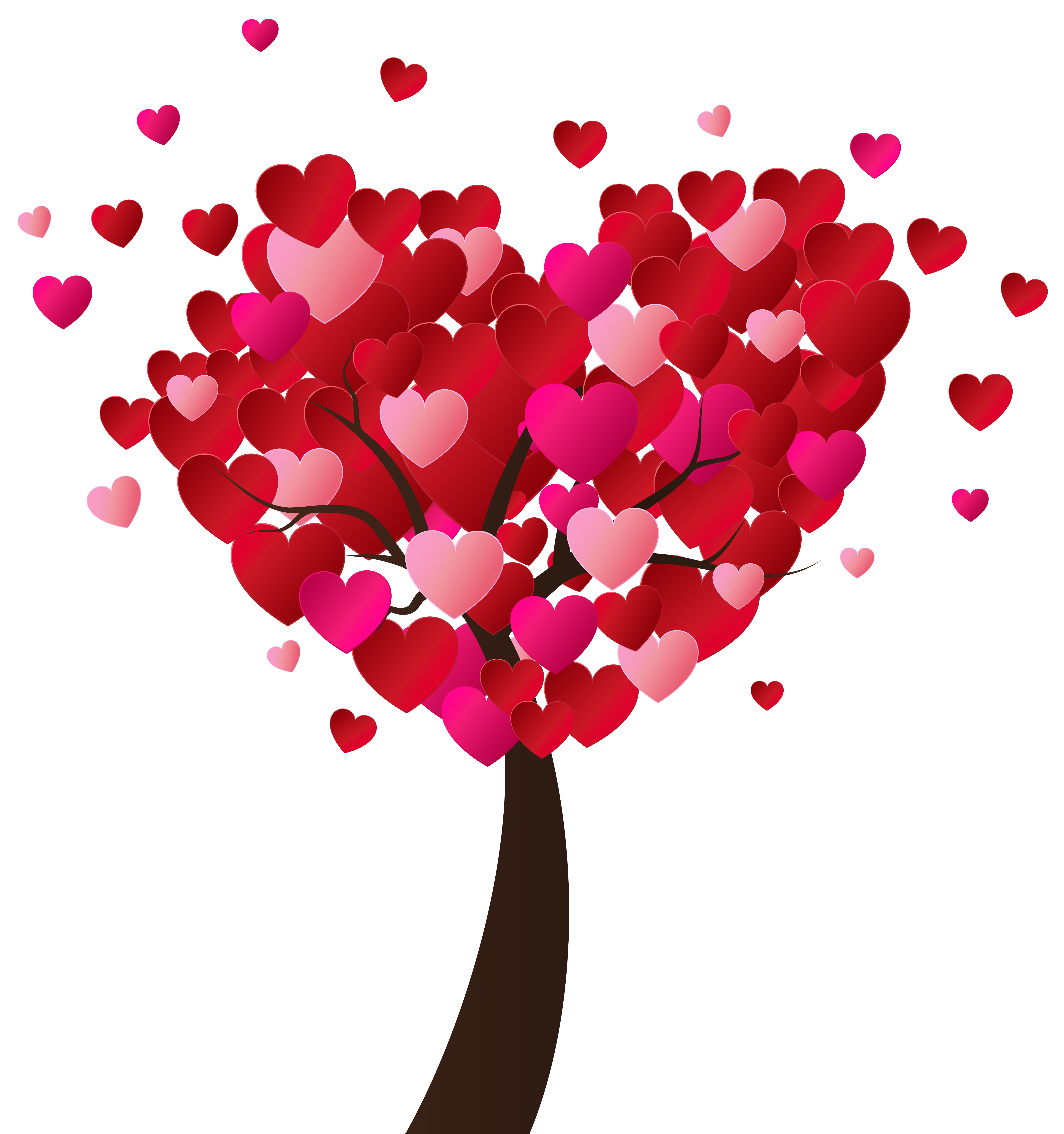 Valentine S Day Heart Tree Png Clip Art Image Gallery Yopriceville