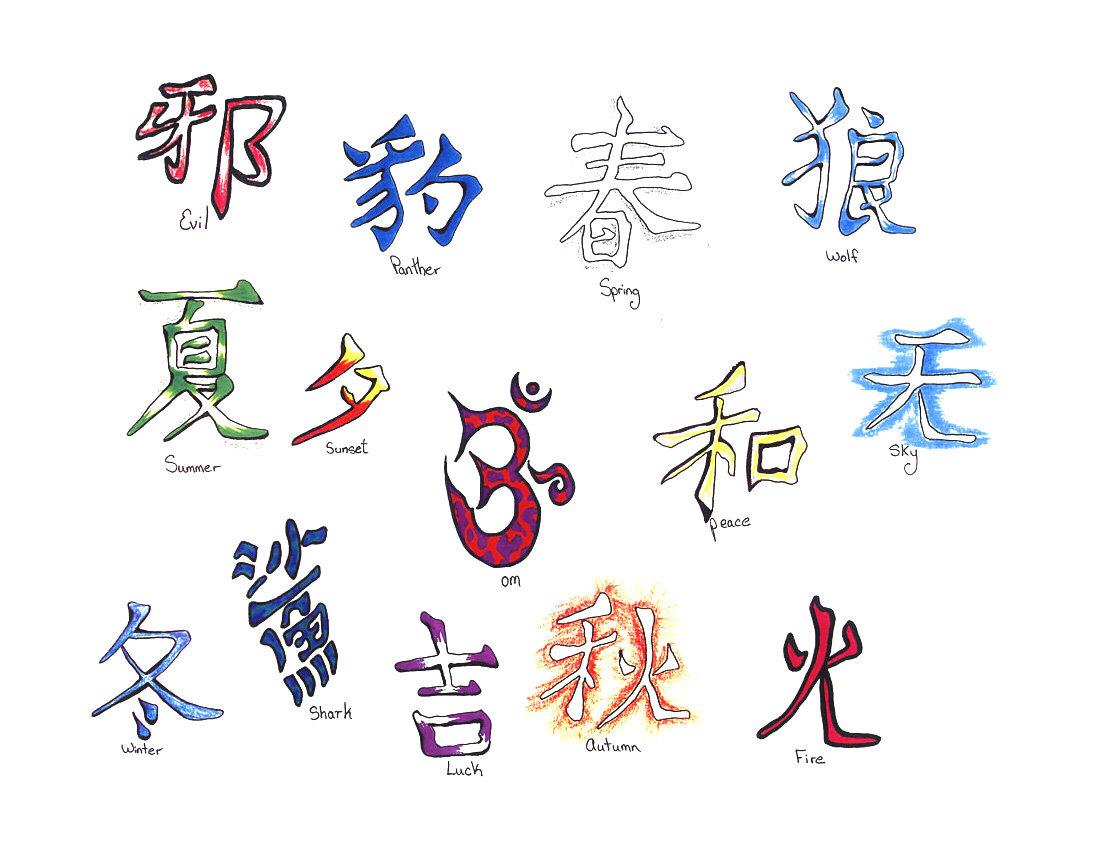 отечественной картинки китайских знаков и их обозначения перегородки