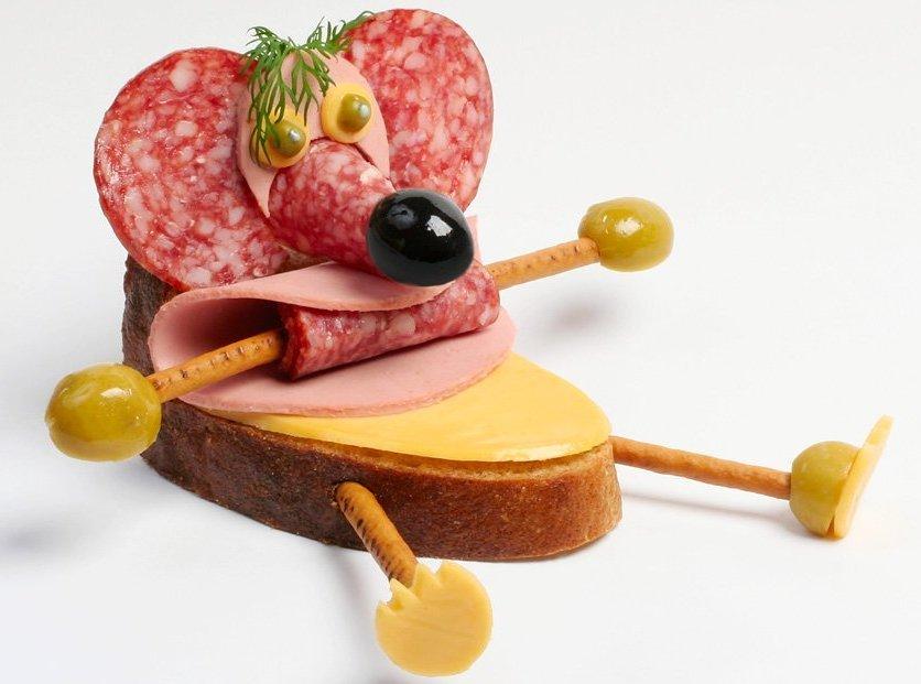 Лет работы, картинки бутерброда с колбасой смешные