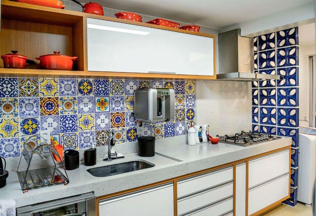 мексиканская плитка на кухонный фартук экзамена