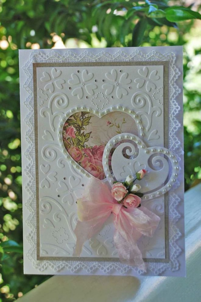 Поздравления осенние, открытки скрапбукинг на годовщину свадьбы 1 год