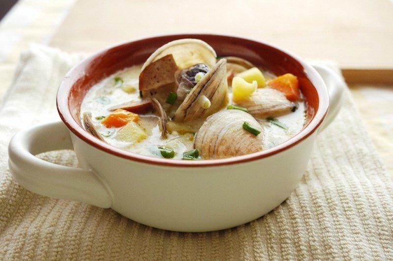 Новоанглийский суп из моллюсков