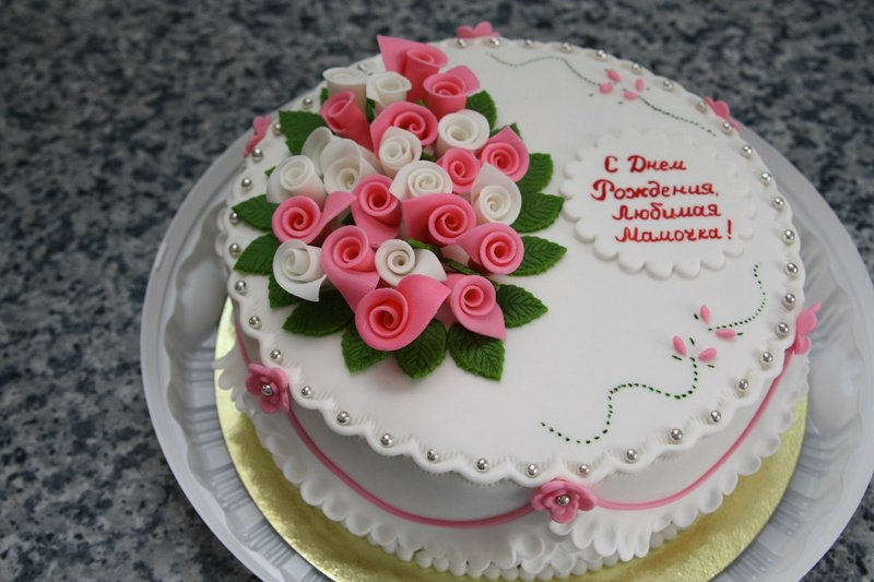 Торт маме на день рождение