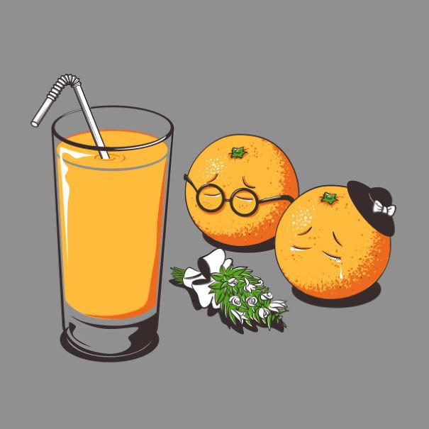 Открытка, картинки еды и напитков смешные