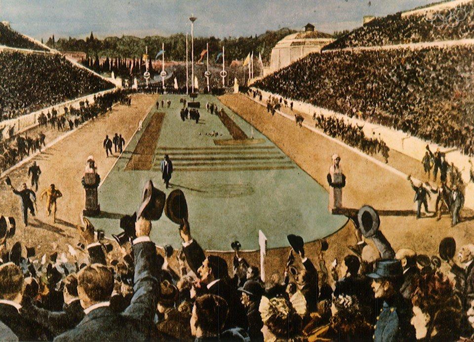 Днем рождения, олимпийские игры 1896 картинки
