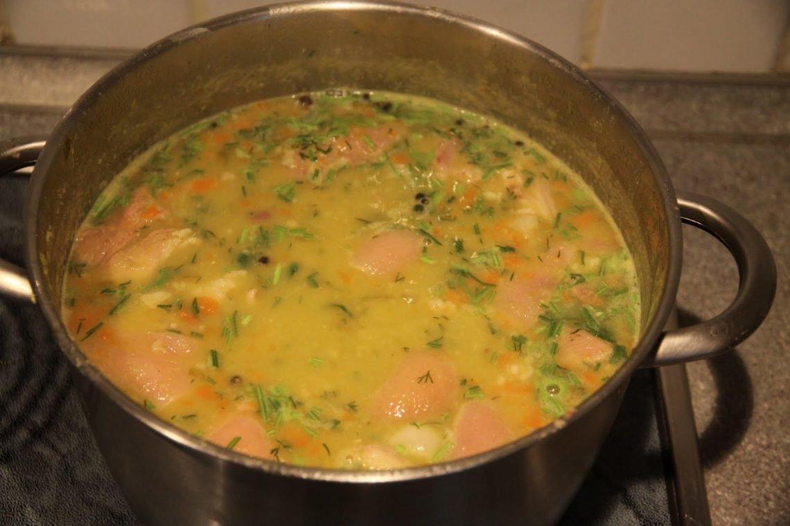 Каа варить обычняй грибой суп с рисом