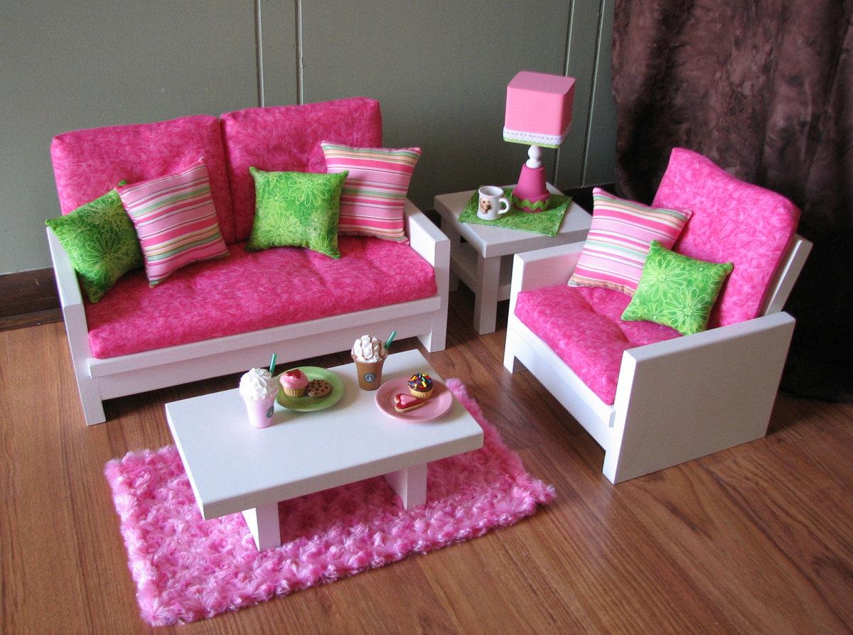 Картинки самодельной мебели для кукол, коллеге
