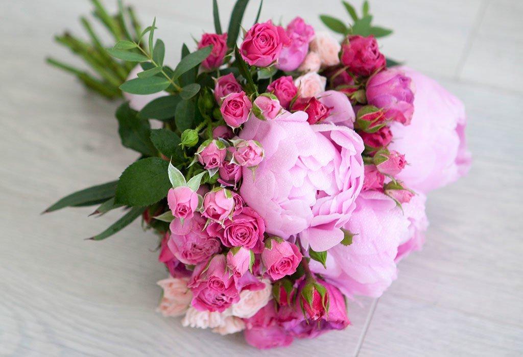 Пионы и розы картинки