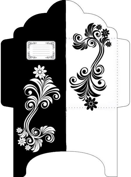 картинки для личного дневника черно белые