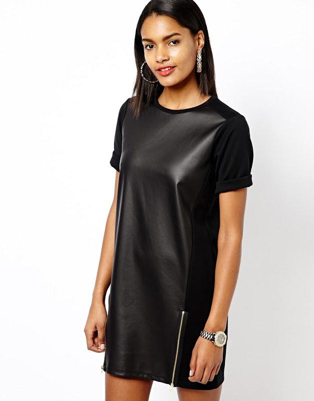 70acd1de0f2 Стильные образы после которых Вам захочется купить кожаное платье ...