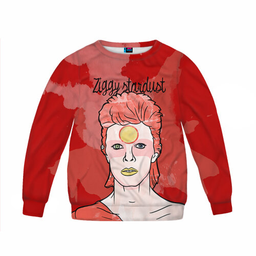 Детский свитшот 3D Ziggy Stardust