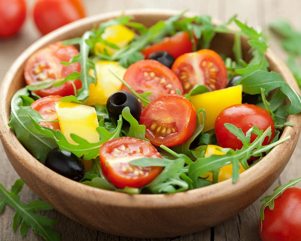 Делай больно, картинки салатов из сырых овощей