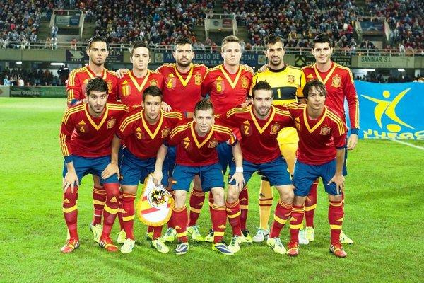 История футбол в испании