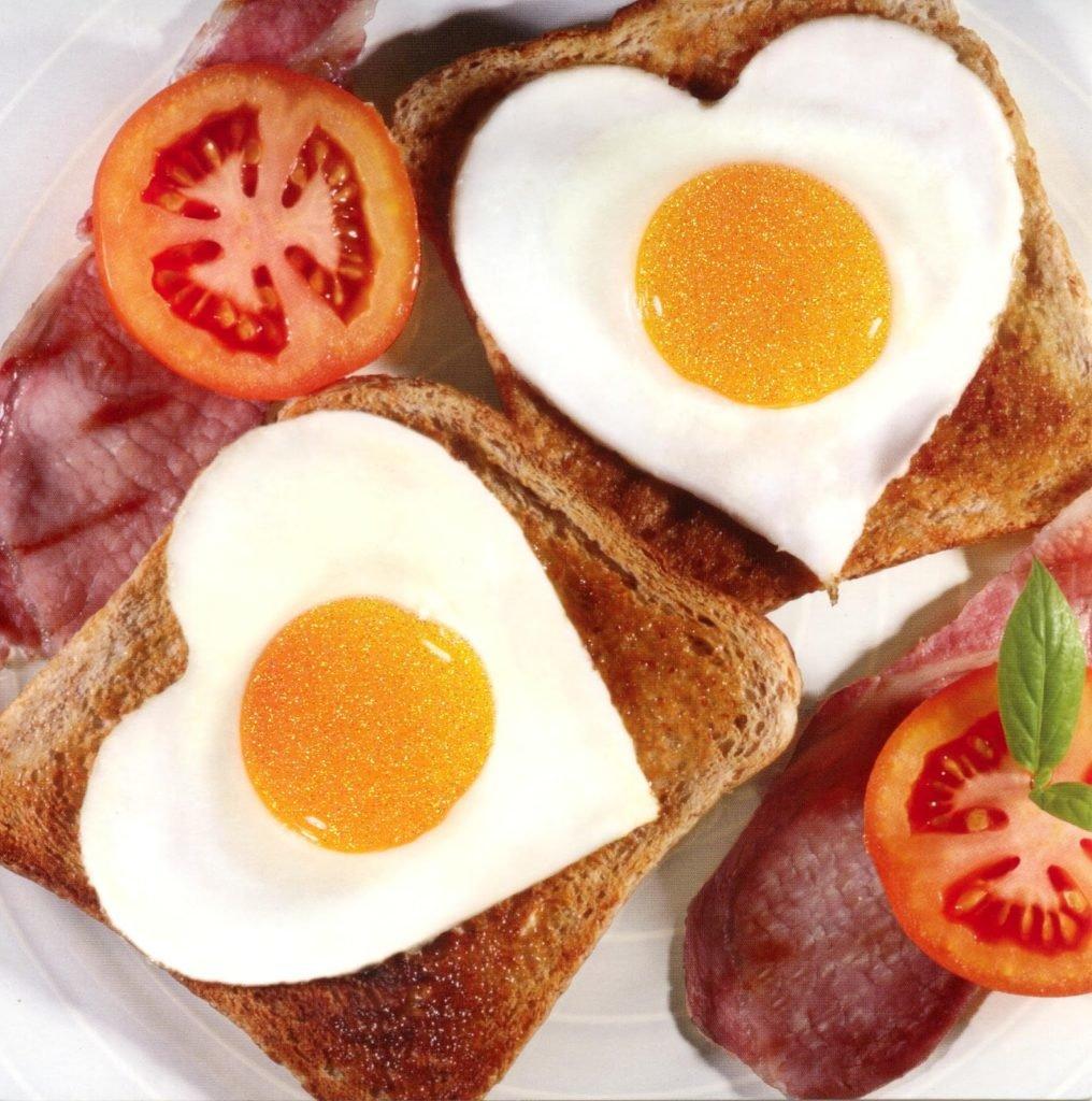 Открытки завтрак для любимой, картинка надписью плакаты