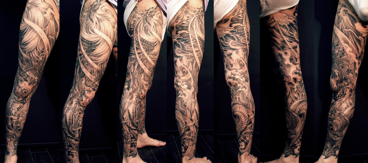 Interest Tattoo Ideas And Design In 2017 Fabulous Asian Leg Sleeve