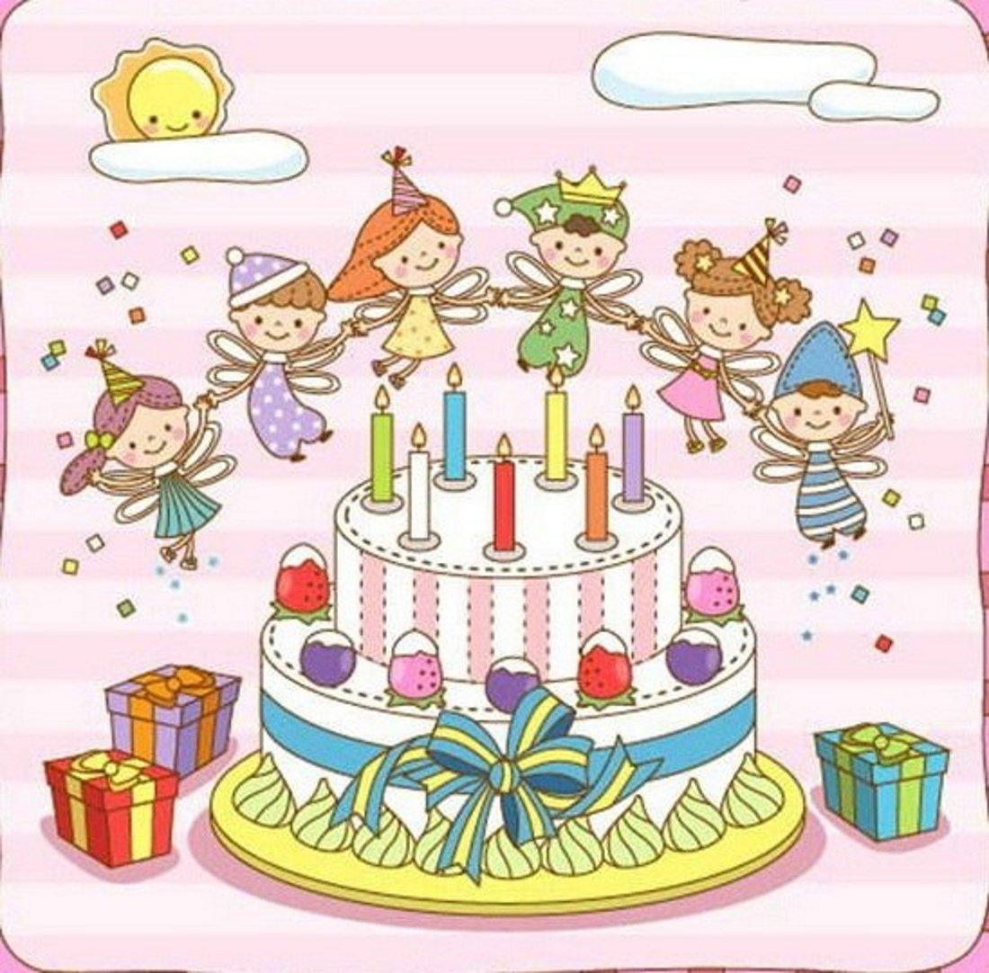 Цветы пожеланиями, картинки на день рождения рисунок