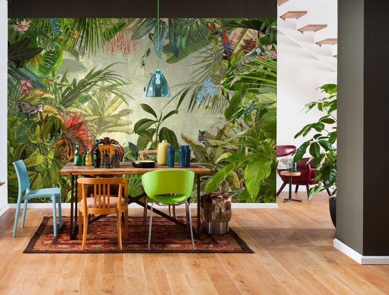 Надписью февраль, картинки в тропическом стиле
