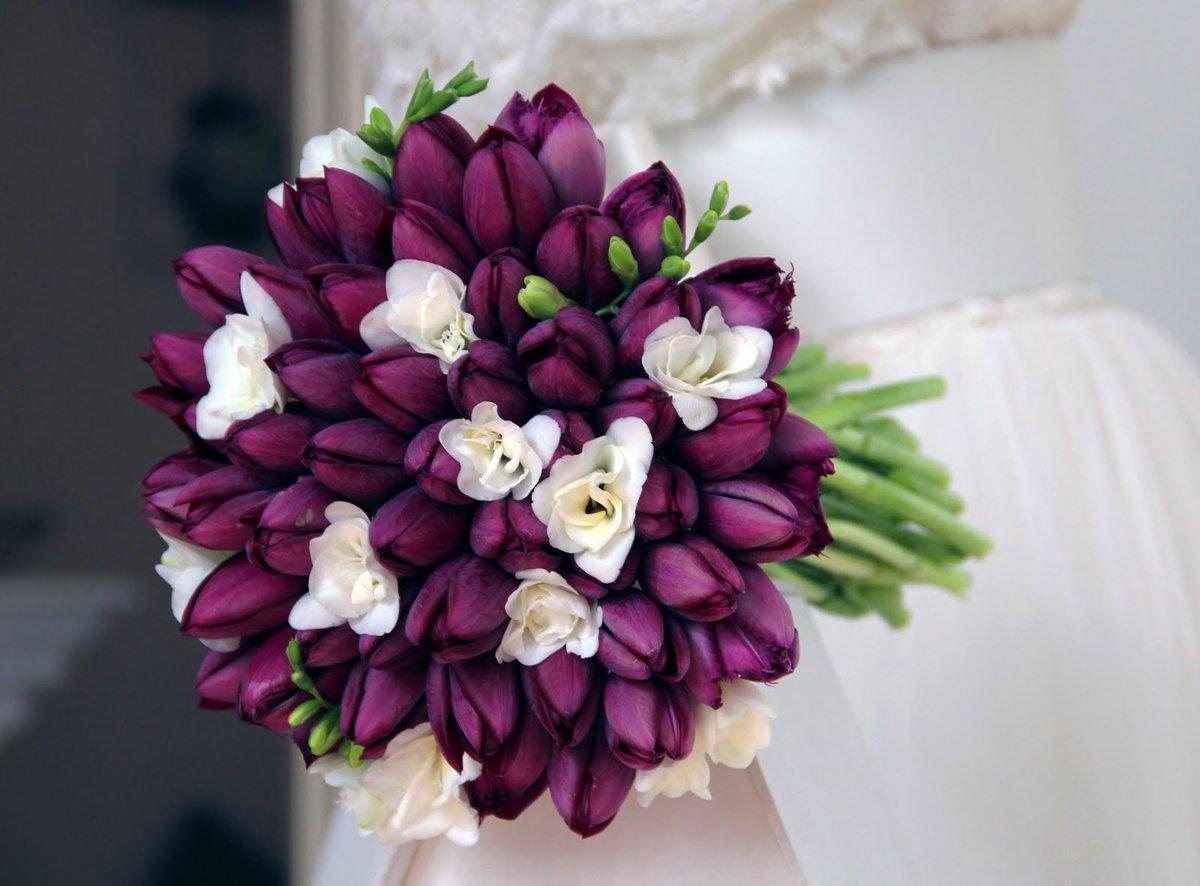 Дешевые, сколько тюльпанов в свадебном букете