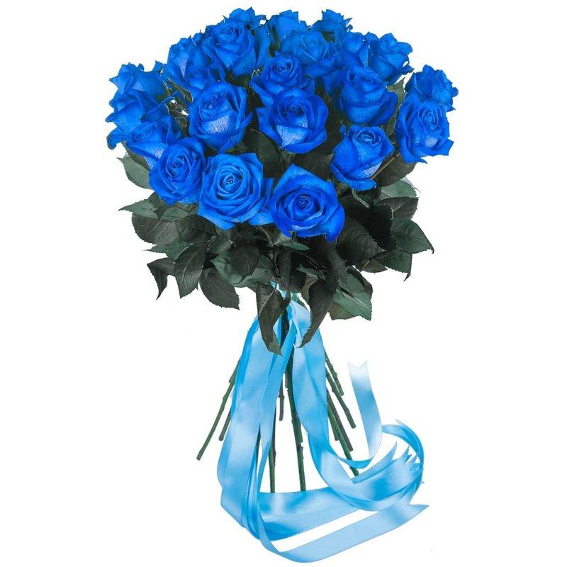 Купить синие розы в интернет магазине где можно купить цветы оптом в саратове