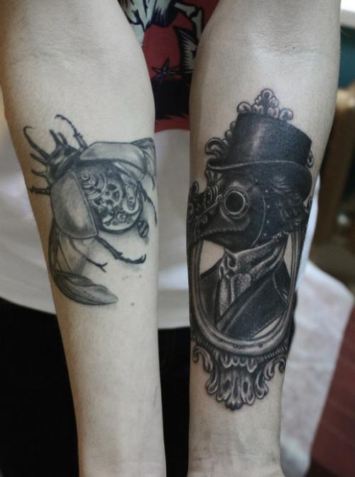 celtic punk tattoo - 500×672